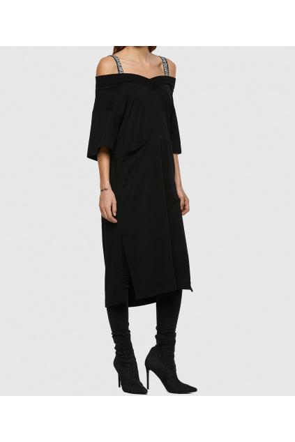 Dámské šaty Diesel D Vorkie černé