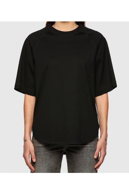 Dámské tričko Diesel T Spok C černé