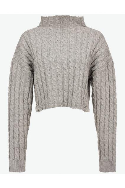 Dámský svetr Pinko Epomeo šedý