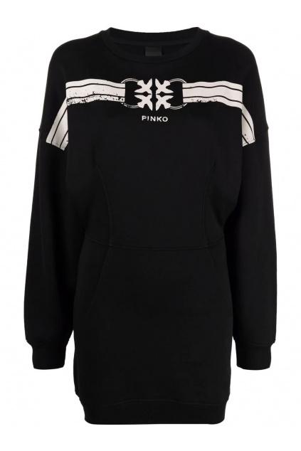 Dámské šaty Pinko PINKO Adelaide černé