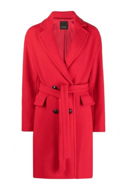 Dámský kabát Pinko Giacomino 1 červený