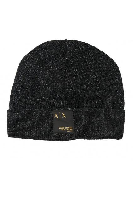Dámská čepice Armani Exchange 9446671A305 černá
