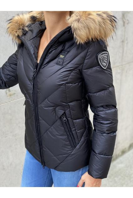 Dámská péřová bunda Blauer 21WBLDC03042 černá