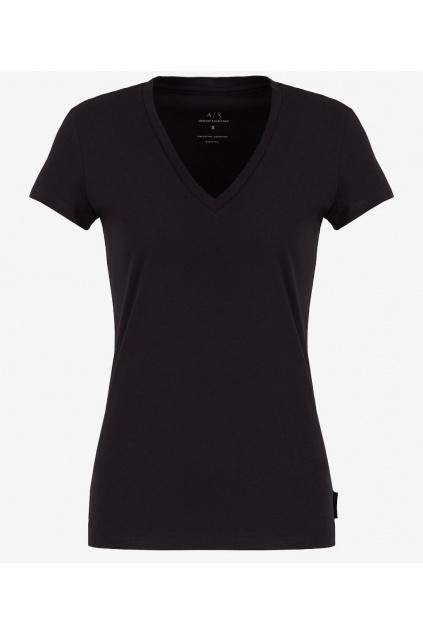 Dámské tričko Armani Exchange 8NYTDH YJ16Z černé