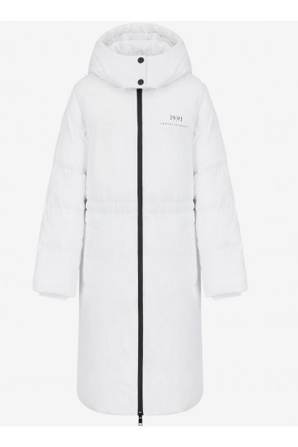 Dámský kabát Armani Exchange 6KYK11 YNTUZ bílý