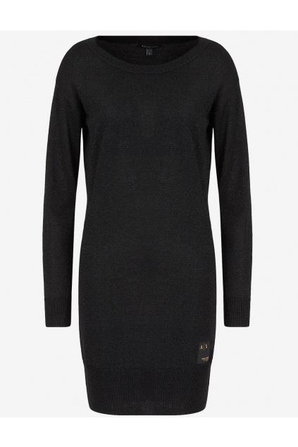Dámské šaty Armani Exchange 6KYA1H YMT7Z černé