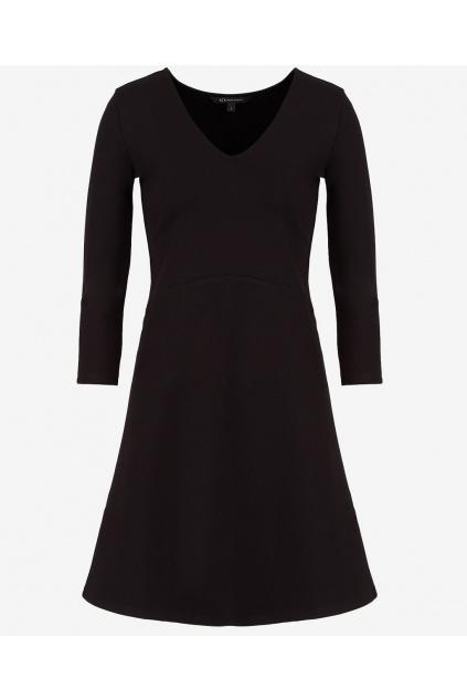 Dámské šaty Armani Exchange 8NYABD YJB7Z černé