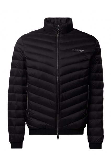 Pánská bunda Armani Exchange 8NZB52 ZNW3Z černá