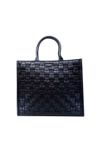Dámská kabelka Pinko Shopping Weave černá