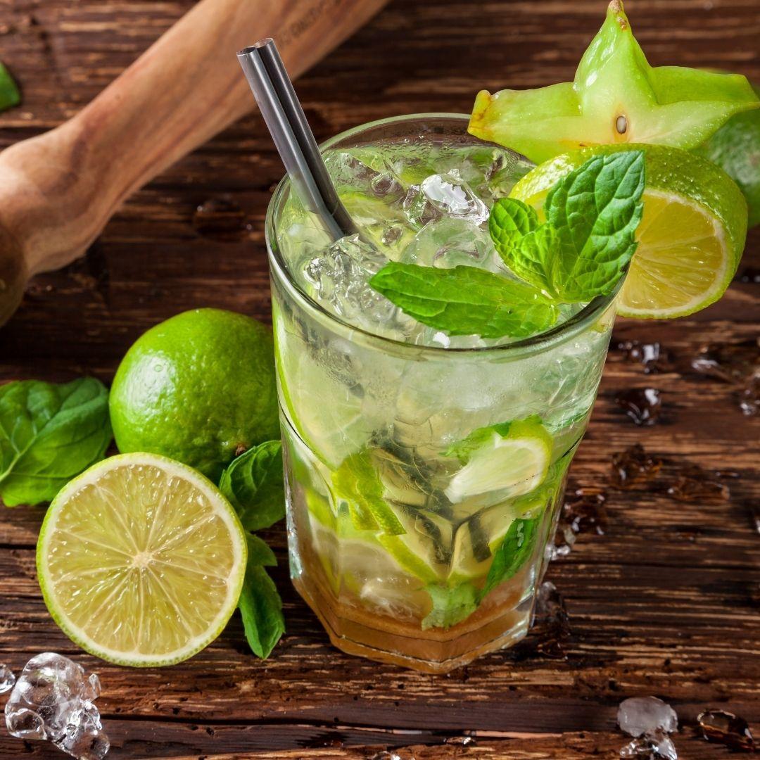 Letní vanilkové osvěžení - Vanilkové & citron, máta a led