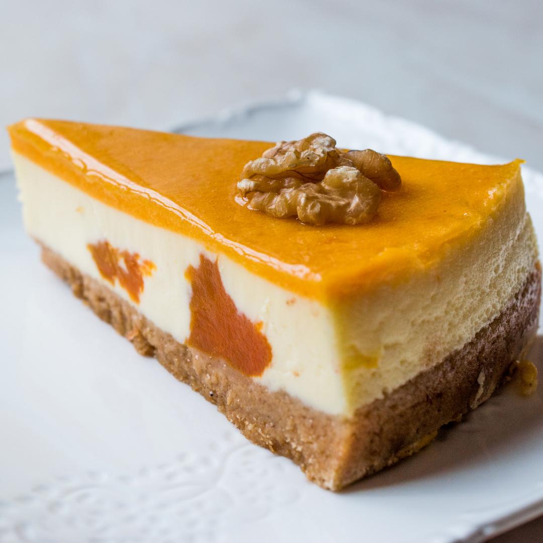 Nepečený karamelový dortík