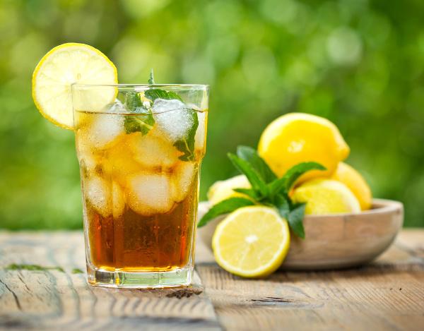 Ledově vanilkový letní drink