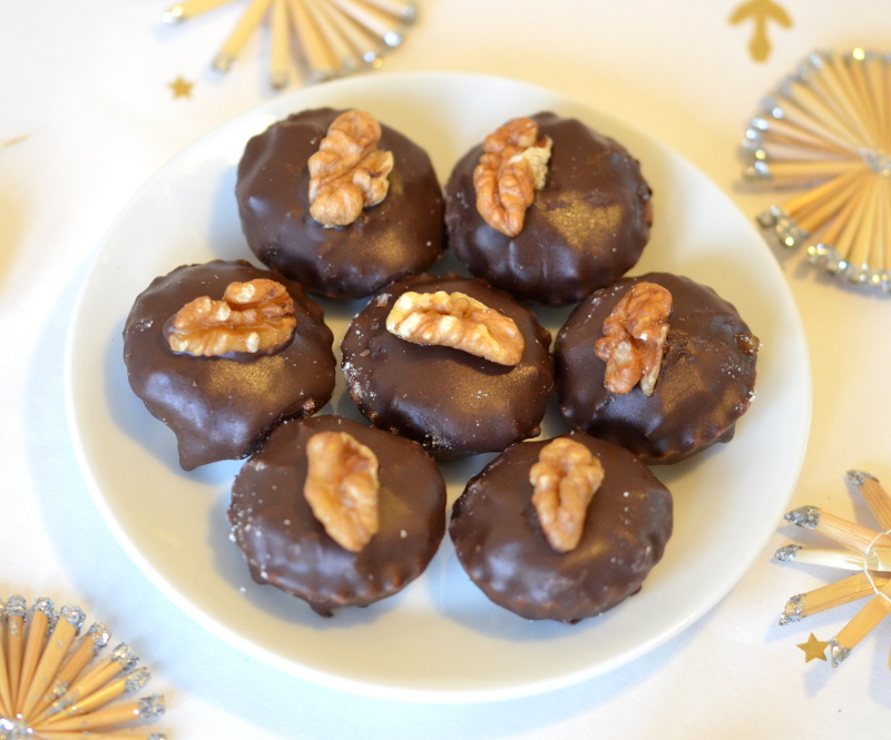 Ořechové košíčky s vanilkou
