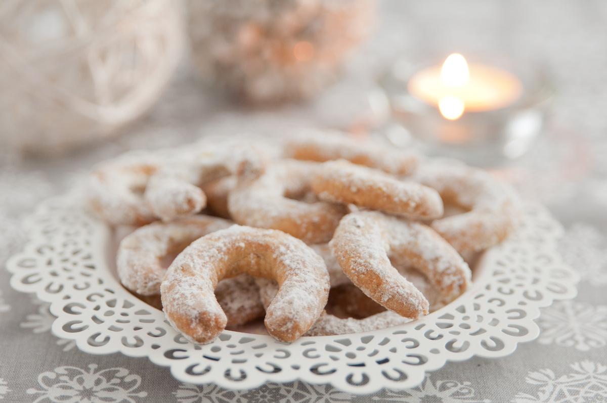 Vanilkové rohlíčky babičky Jarky