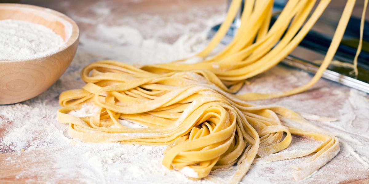 Domácí vanilkové těstoviny