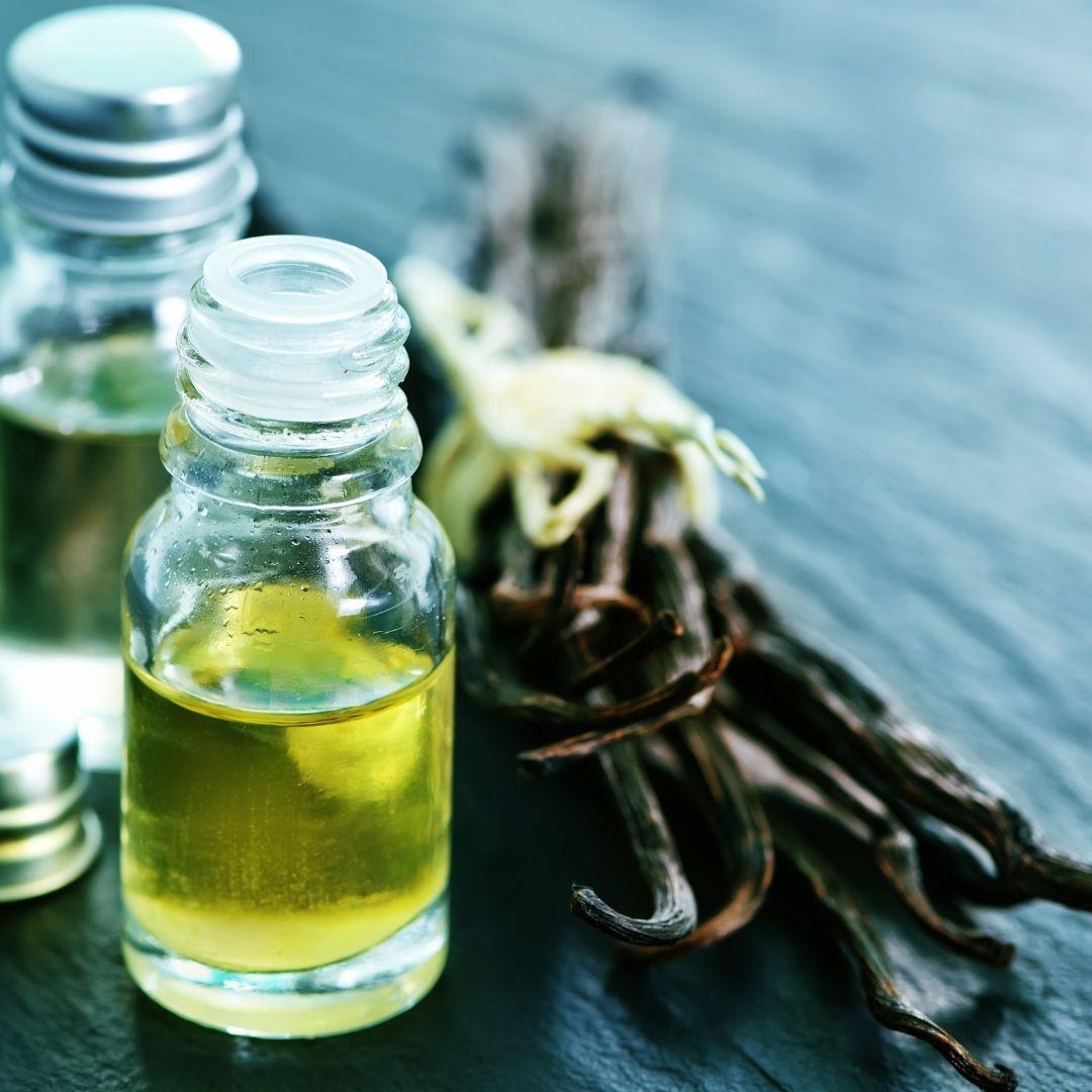 Vanilkový olej z mleté vanilky