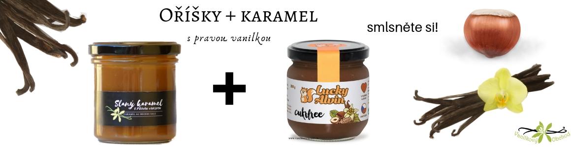 Smíchejte slaný karamel s lucky alvinem a budete koukat!
