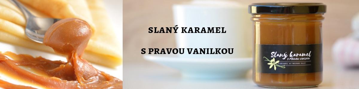 Slaný karamel s pravou vanilkou