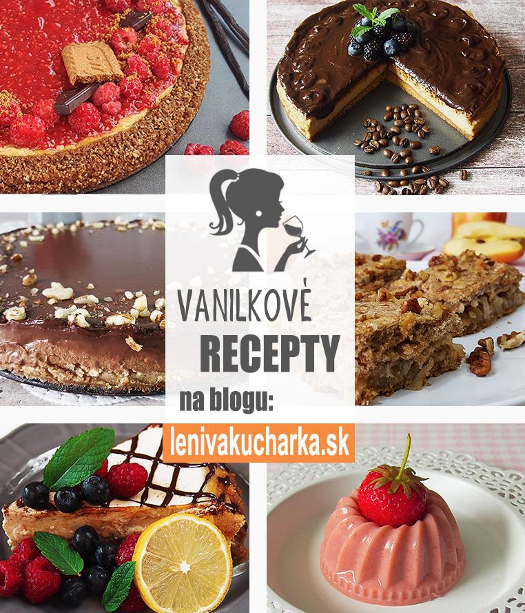 Vanilkové recepty od Lenivé kucharky