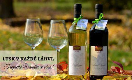 Tropické Vanilkové víno