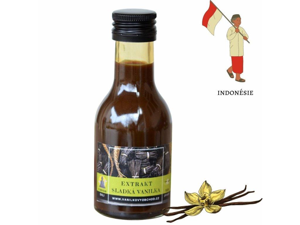 extrakt vanilka indonésie