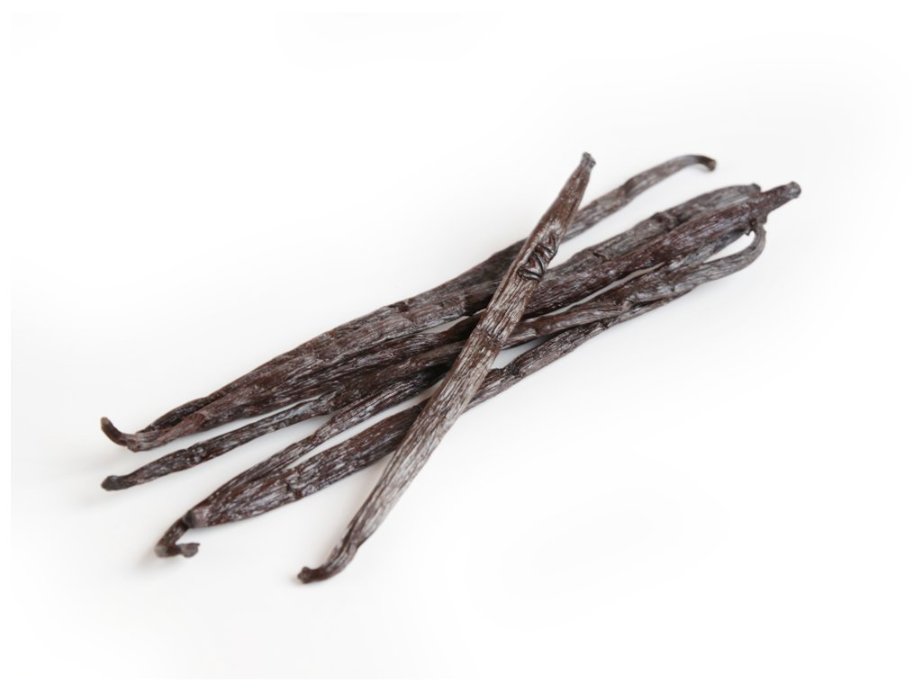 1ks Vanilkové lusky Vanilka bourbon, Mauritus, 18cm