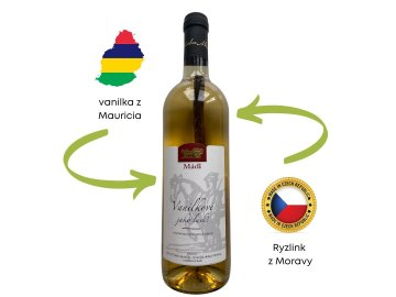 vanilkove vino