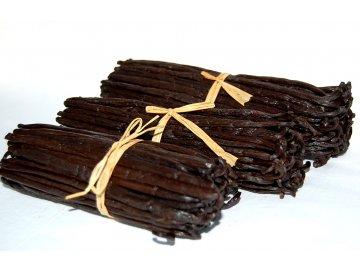 2ks Vanilkové lusky Vanilka bourbon, Mauritus, 20cm