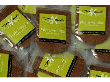 Mletá vanilka Tahitensis z Indonésie, 10g
