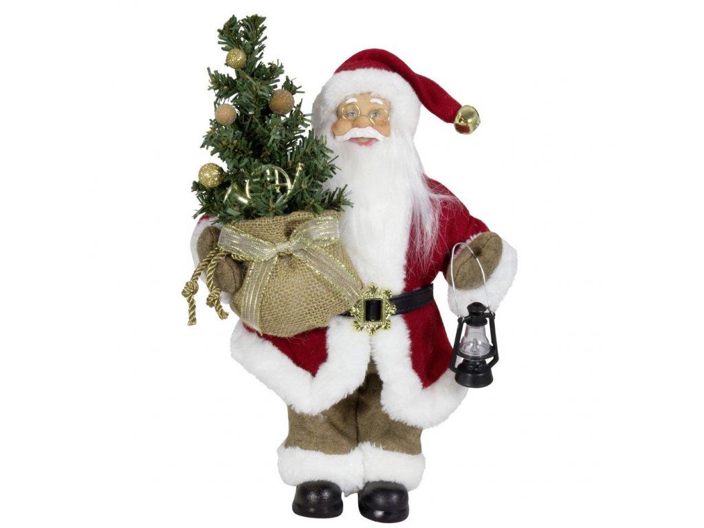 vánoční santa Samuel 30 cm