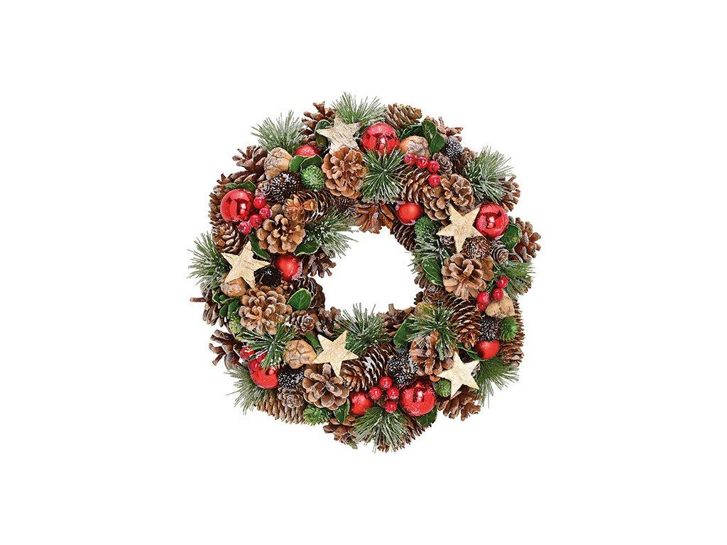 Vánoční věnec 34 cm