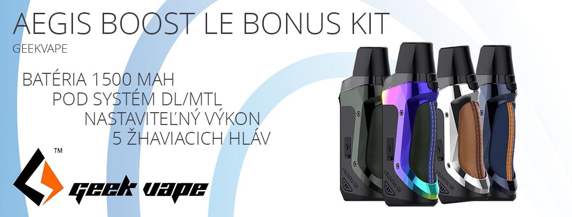 GeekVape Aegis Boost LE Bonus kit 1500mAh