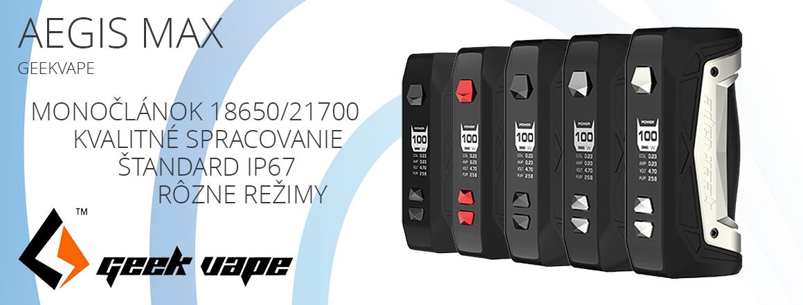 Geekvape Aegis Max TC100W Easy