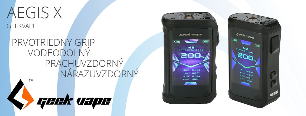 GeekVape Aegis X TC200W Easy