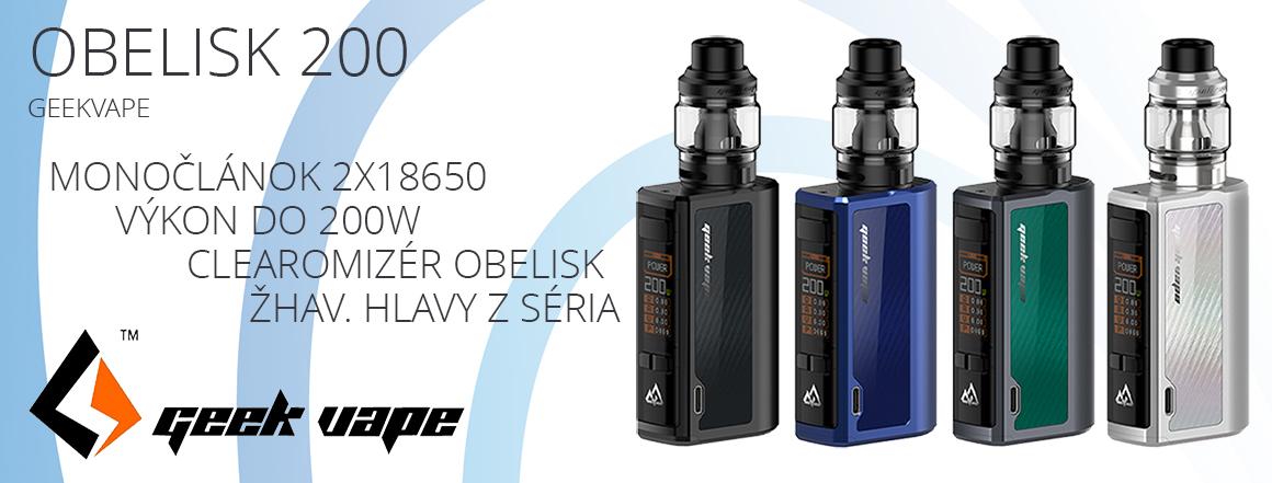 GeekVape Obelisk 200 TC200W Full
