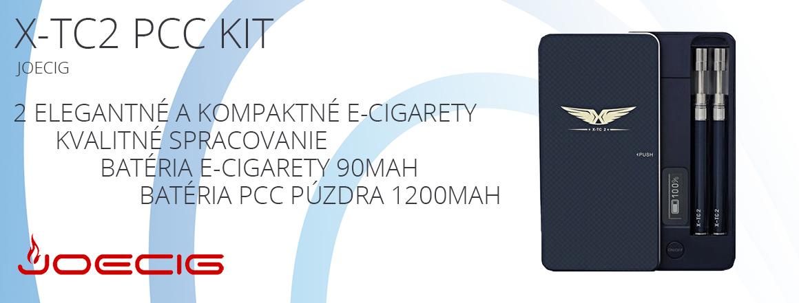 Joecig X-TC2 PCC Kit 2x90mAh + 1x1200mAh