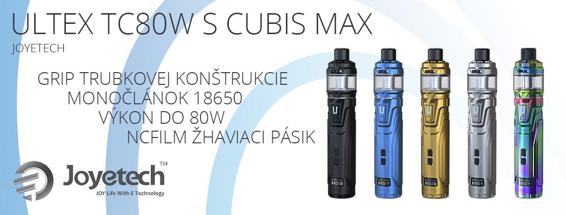 Joyetech Ultex TC80W s Cubis Max