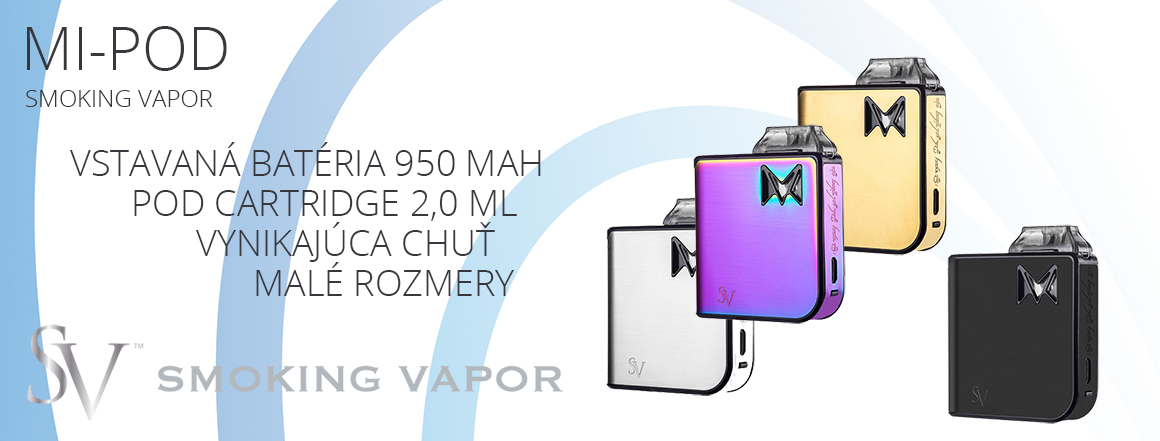 Smoking Vapor Mi-Pod Metal Collection 950mAh