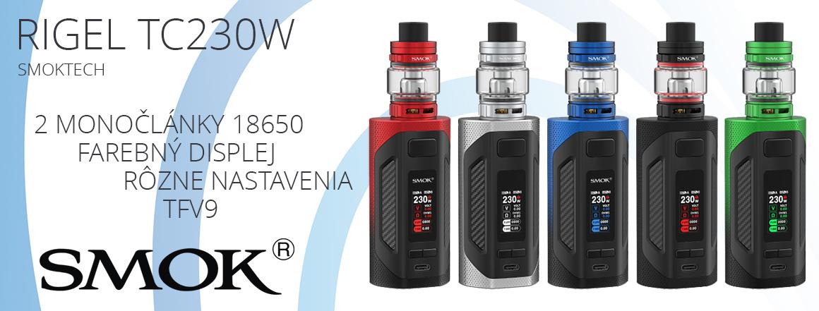 Smoktech Rigel TC230W s TFV9