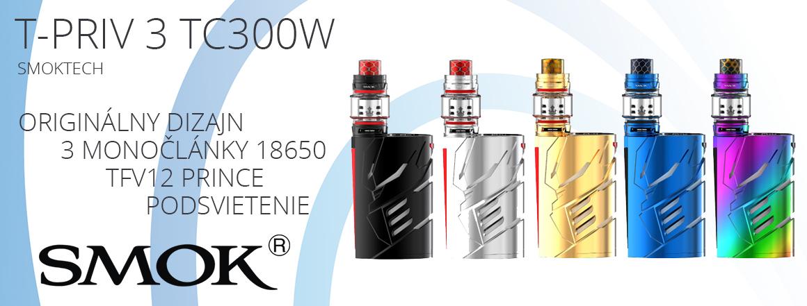 Smoktech T-PRIV 3 TC300W Full