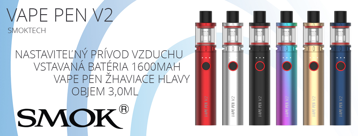 Smoktech Vape Pen V2 1600mAh
