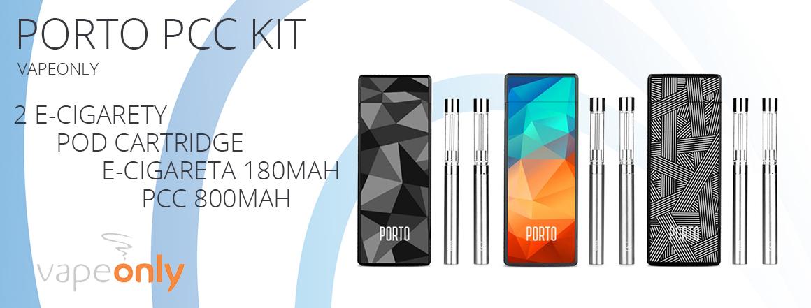 VapeOnly Porto PCC Kit 2x180mAh + 1x800mAh