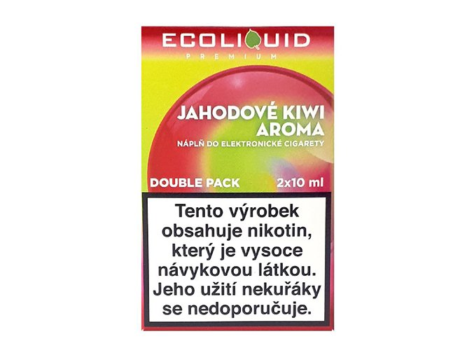 Ecoliquid Strawberry Kiwi