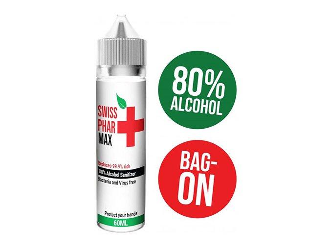 Swiss PharMax 80% Alcohol Hand Sanitizer 60ml