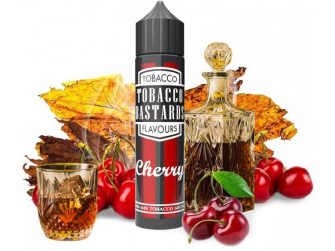 Flavormonks Tobacco Bastards Shake & Vape Cherry