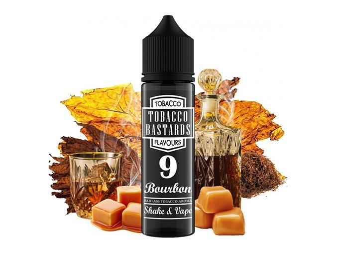 Flavormonks Tobacco Bastards Shake & Vape No.09 Bourbon