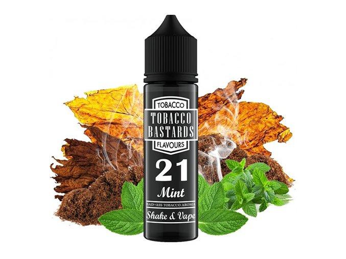 Flavormonks Tobacco Bastards Shake & Vape No.21 Mint