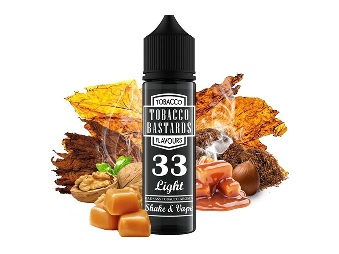 Flavormonks Tobacco Bastards Shake & Vape No.33 Light