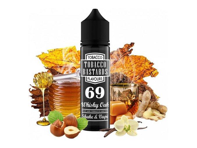 Flavormonks Tobacco Bastards Shake & Vape No.69 Whisky Oak