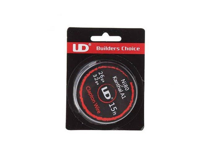 UD drôt Clapton Wire 26ga+32ga Ni80+Kanthal A1